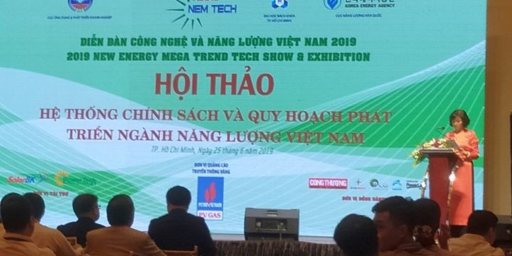 Opening the forum of technology and energy in Vietnam in 2019