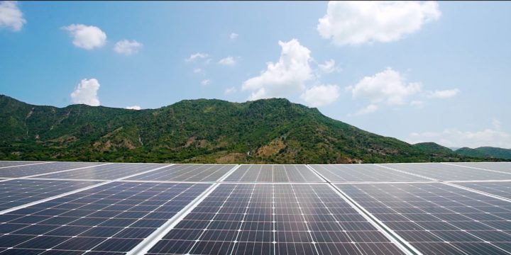 The Government encourages investment in solar power projects